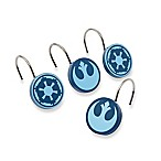 Star Wars™ Classic Saga Shower Curtain Hooks (Set of 12)