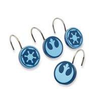 Star Wars™ Classic Saga Shower Curtain Hooks (Set of 12)