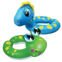 Animal 2-Pack Dino/Frog Split Tube