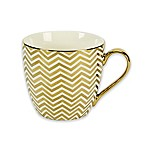 Studio TU® by Tabletops Unlimited® Oria Cosmospus Mug in Gold