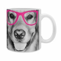 DENY Designs Allyson Johnson Hippest Dog Mugs in Pink (Set of 2)