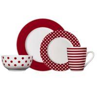 Pfaltzgraff® Kenna 16-Piece Dinnerware Set in Red