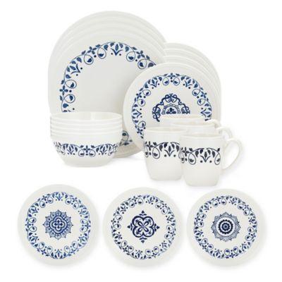 Pfaltzgraff Alina 16-Piece Dinnerware Set  sc 1 st  Bed Bath u0026 Beyond & Buy White Stoneware Dinnerware from Bed Bath u0026 Beyond