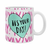 "DENY Designs Allyson Johnson ""It's Your Day"" Mugs (Set of 2)"
