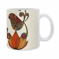 DENY Designs Valentina Ramos In The Garden Ceramic Mugs in Red (Set of 2)