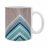 DENY Designs Iveta Abolina High Tide Ceramic Mugs in Blue (Set of 2)