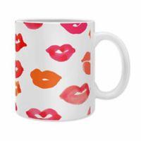 "DENY Designs Rebecca Allen ""Le Baiser"" Mugs (Set of 2)"