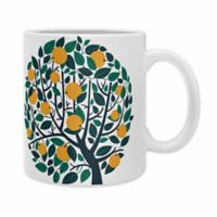 DENY Designs Lucy Rice Orange Tree Mugs (Set of 2)