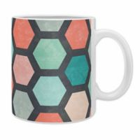 "DENY Designs Jacqueline Maldonado ""Hexagon 1"" Mugs (Set of 2)"