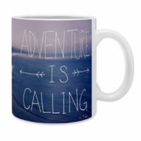 DENY Designs Leah Flores Adventure Is Calling Mugs (Set of 2)