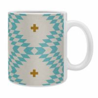 DENY Designs Holli Zollinger Native Natural Plus Coffee Mugs in Blue (Set of 2)