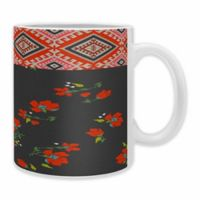DENY Designs Holli Zollinger Bohemian Farmhouse Coffee Mugs in Red (Set of 2)