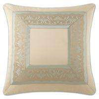 Waterford® Linens Aramis European Pillow Sham in Aqua/Gold
