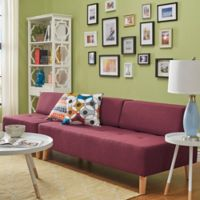 Verona Home Radley Mid-Century Modular Armless Sofa