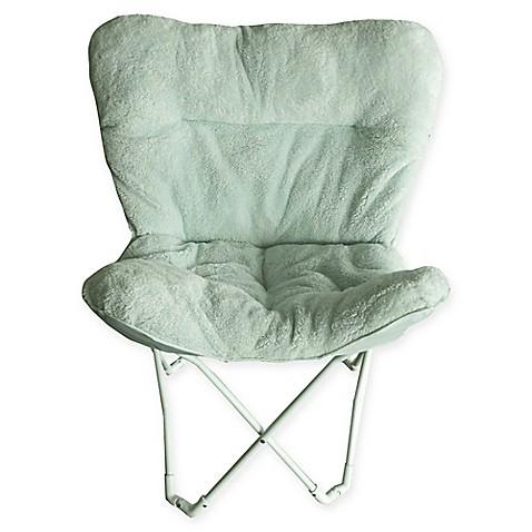 Folding Plush Butterfly Chair Www Bedbathandbeyond Com