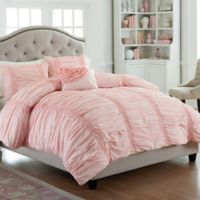 Mary Jane's Home® Cotton Clouds King Comforter Set in Pink