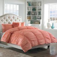 Mary Jane's Home® Cotton Clouds King Comforter Set in Coral