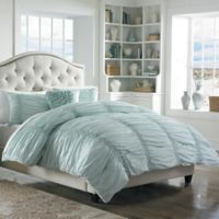 Mary Jane's Home® Cotton Clouds King Comforter Set in Blue
