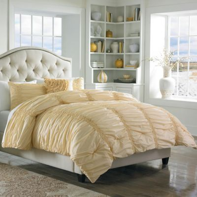 mary janeu0027s home cotton clouds twin comforter set in yellow