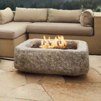 Real Flame® Antique Stone Square Propane Table