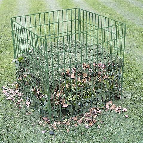 Bosmere 100 Gallon Wire Compost Bin In Green Bed Bath