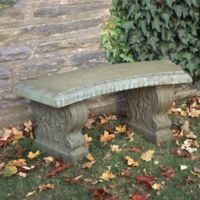 Compania Traditional Curved Garden Bench