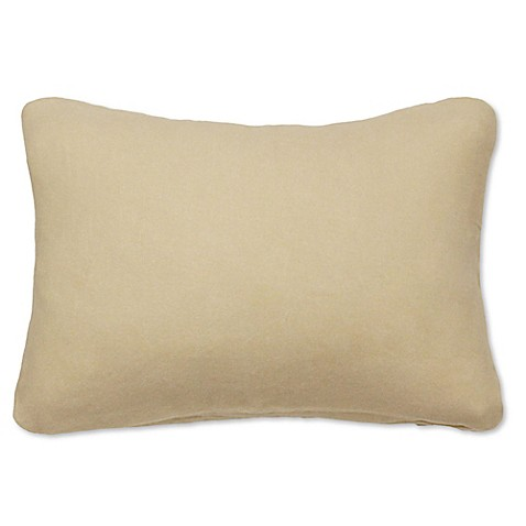 PUR Cashmere Oblong Throw Pillow