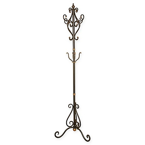 Metal Coat Tree In Oil Rubbed Bronze Bed Bath Amp Beyond