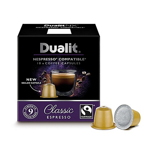 dualit nx nespresso compatible coffee capsules collection bed bath beyond. Black Bedroom Furniture Sets. Home Design Ideas