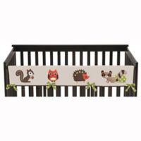 Sweet Jojo Designs Forest Friends Long Crib Rail Guard Covers