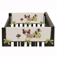 Sweet Jojo Designs Forest Friends Short Crib Rail Guard Covers