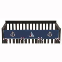 Sweet Jojo Designs Nautical Nights Long Rail Guard