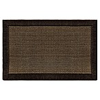 Home Dynamix Gentle Step 1-Foot 7-Inch x 2-Foot 7-Inch Memory Foam Mat in Brown