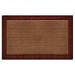 Home Dynamix Gentle Step 1-Foot 7-Inch x 2-Foot 7-Inch Memory Foam Mat in Ruby
