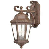The Great Outdoors by Minka-Lavery Taylor Court 2-Light Wall Mount with Vintage Rust Finish