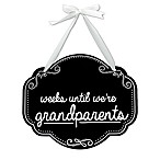 "Pearhead ""Weeks Until We're Grandparents"" Chalkboard Sign"