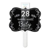 """Pearhead """"Weeks Until Baby"""" Chalkboard Sign"""