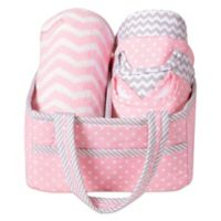 Trend Lab® 6-Piece Baby Care Gift Set in Pink Sky