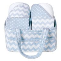 Trend Lab® 5-Piece Baby Bath Gift Set in Blue Sky