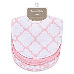 Trend Lab® 3-Pack Bib Set in Pink Sky