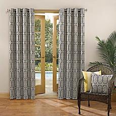 Sun Zero Carey Grommet Top Indoor Outdoor Window Curtain