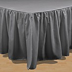 Brielle Stream Queen Bed Skirt in Grey