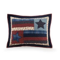 Mary Jane's Liberty Standard Pillow Sham in Navy