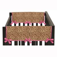 Sweet Jojo Designs Pink Cheetah Side Rail Guard (Set of 2)
