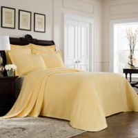 Williamsburg Richmond Twin Bedspread in Yellow