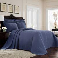Williamsburg Richmond King Bedspread in Blue