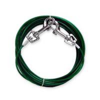 Tie Out Swivel 12ft Leash in Green