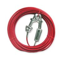 Boss Pet© 20-Inch Large Dog Cable Tie Out in Red