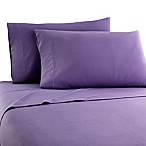 Micro Flannel® Solid King Sheet Set in Plum