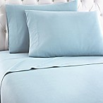 Micro Flannel® Solid King Sheet Set in Spa Blue